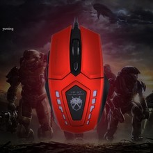 Hot Sale VP-X7 Brand 6D Buttons 2400 dpi Optical USB Wired Gaming Mouse Game Mice For PC Computer Desktop Gamer B2