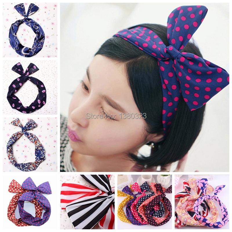 Как сделать повязку с бантом на голову для девочки своими руками