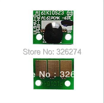 Free shipping opc drum chip for Konica Minolta color copier spare parts bizhub C224 C364 C564 C754 C/M/K/Y chips(China (Mainland))