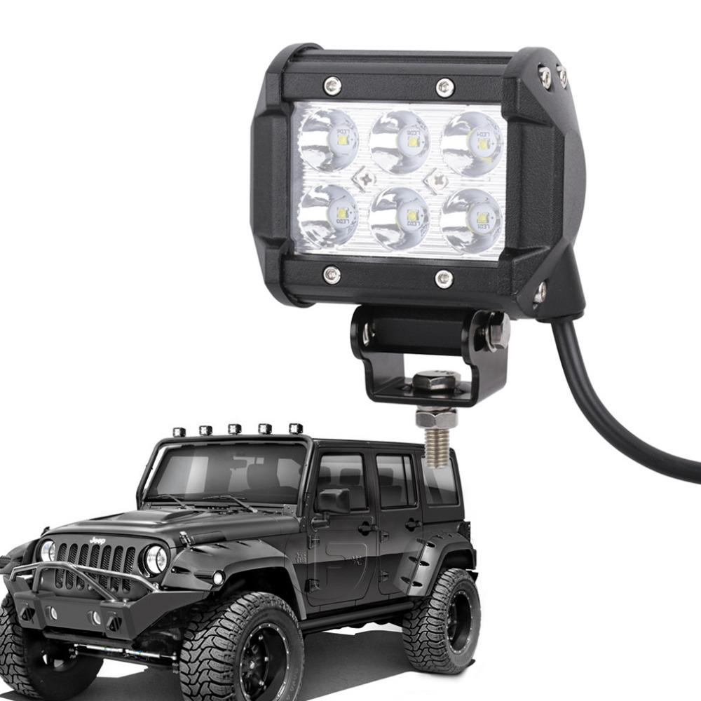 "Led Spotlight Truck: 4"" 18W 36W 72W CREE LED Chip Offroad Driving Work Spot"