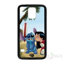 For iphone 4/4s 5/5s 5c SE 6/6s plus ipod touch 4/5/6 back skins mobile cellphone cases cover Lilo And Stich