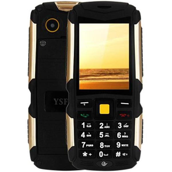 M12 Tri SIM Tri Standby Russian Arabic Keyboard 4500mAh Battery Three Proof Functions Mobile Phone Waterproof Camera Bluetooth(China (Mainland))