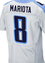 2016 NEW MEN 'S New wholesale 29 DeMarco Murray Jersey #8 Marcus Mariota elite white navy blue 100% Stitched jersey(China (Mainland))