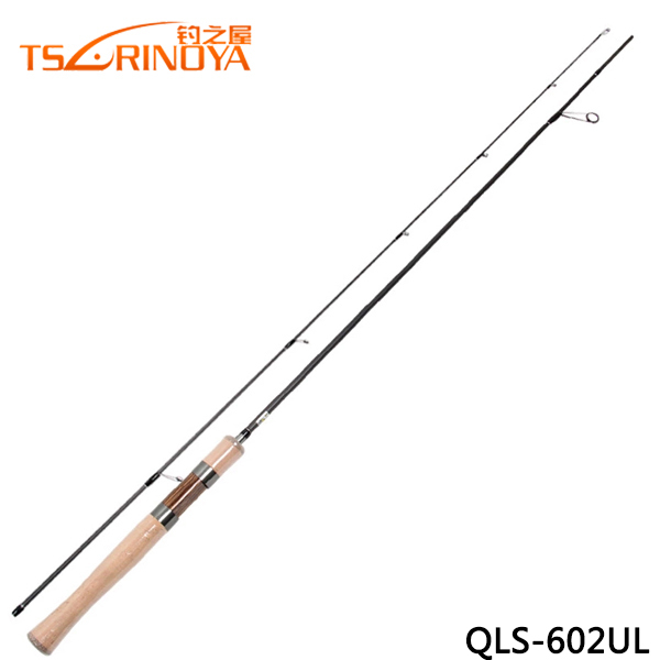 Tsurinoya dragon qls 602ul ultra light 89g carbon for Fishing pole guides
