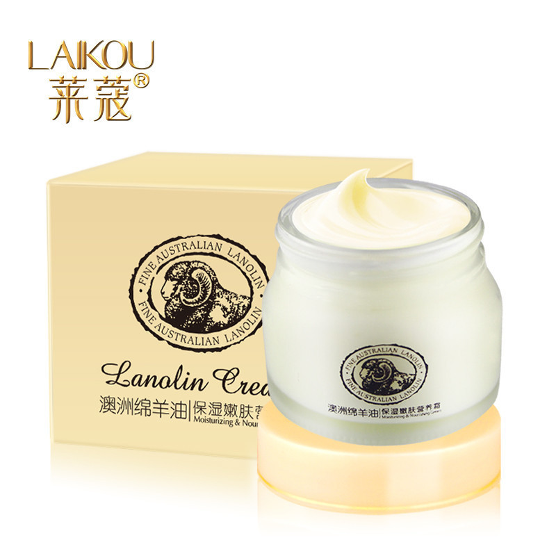 كريم اللانولين الأغنام المشيمة laikou hyaluron كريم يحتوي على حمض، الألوة فيرا، اللانولين الأغنام كوراكاو يوم المنتجات للعناية بالبشرة المنتجات(China (Mainland))
