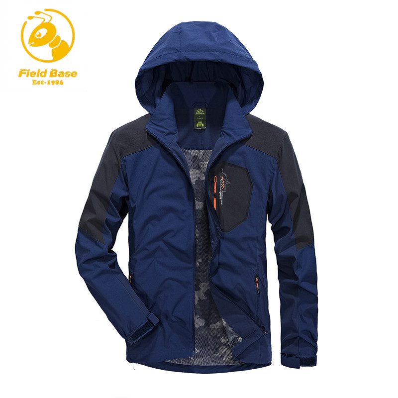 Field Base Brand Clothing Jacket Spring Autumn Men Coat male Casual Style Jacket Men Waterproof Clothes Leisure Men's Jacket(China (Mainland))