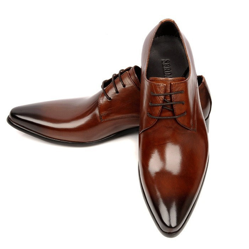 2016 formal s dress wedding shoes genuine leather