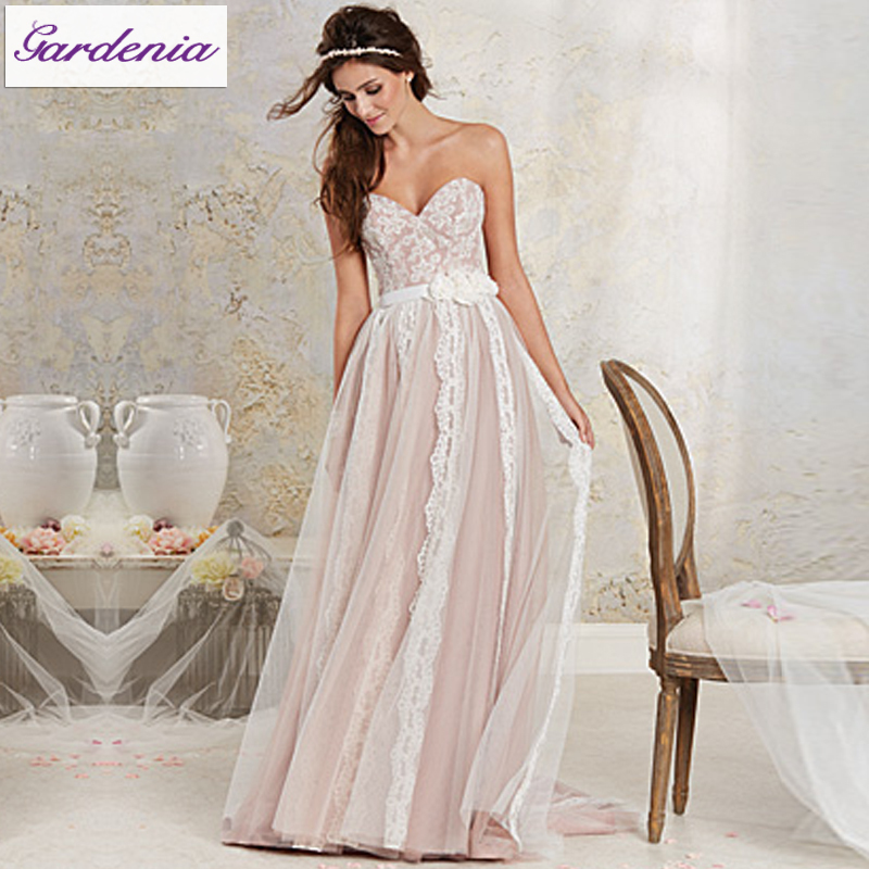 Wedding Gown Light Pink 13