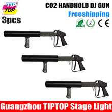 Factory Sales Handhold Co2 Jet Gun Stage Equipment 3Meter Hose Hi-Quality CO2 DJ Lights Without Power Use - Guangzhou TIPTOP Lighting Corporation limited store