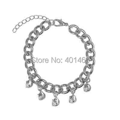 HOT new free shipping stone charms link chain bracelet fashion jewelry accessory(China (Mainland))