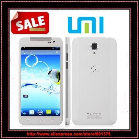In stock! White UMI S1 phone MTK6589 1.2Ghz Quad-Core 1.2Ghz Android 4.2 smartphone 8GB ROM + 1GB RAM Russia Hebrew menu(Hong Kong)