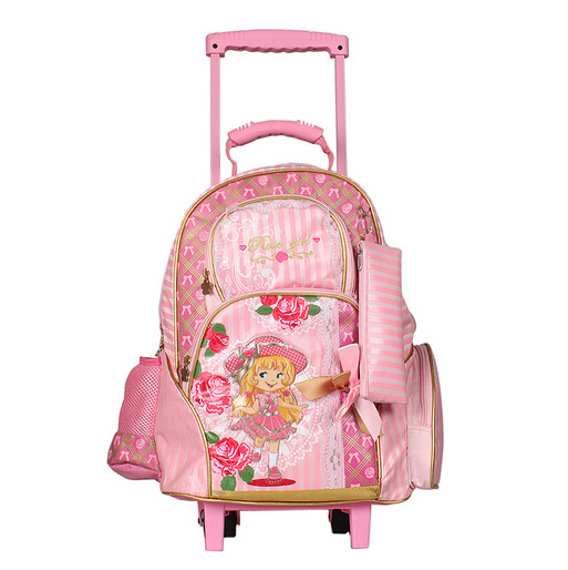 School bags children backpacks bolsa feminina lovely princess backpack female mochila infantil travel trolley kid bag &88116 - Friday's Store store