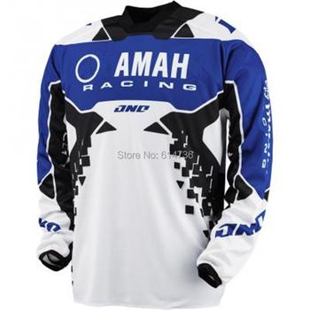 High Quality New Designs Breathable BMX DH MX ATV Motocross Jerseys Mountain Bike SE Pro Cycling Racing Mens Shirts M-XXL