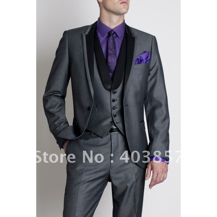 Grey wedding suit - ChinaPrices.net