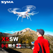 Buy Syma X5SC (X5C Upgrade) X5SW WiFi Drone Camera FPV HD Drone 2.4G 4CH 6-Axis RC Helicopter Dron Quadrocopter Toy for $64.28 in AliExpress store