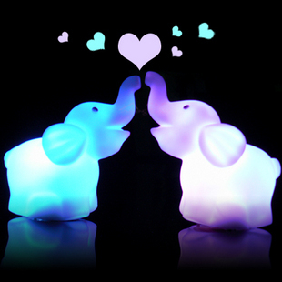 Long colorful small night light gift night market toy neon toy