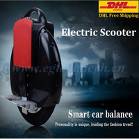 2015 500W One Wheel Electric Unicycle Bluetooth Scooter 2Ah Battery Self Balancing Scooter Electric Skateboard DHL Free Shipping