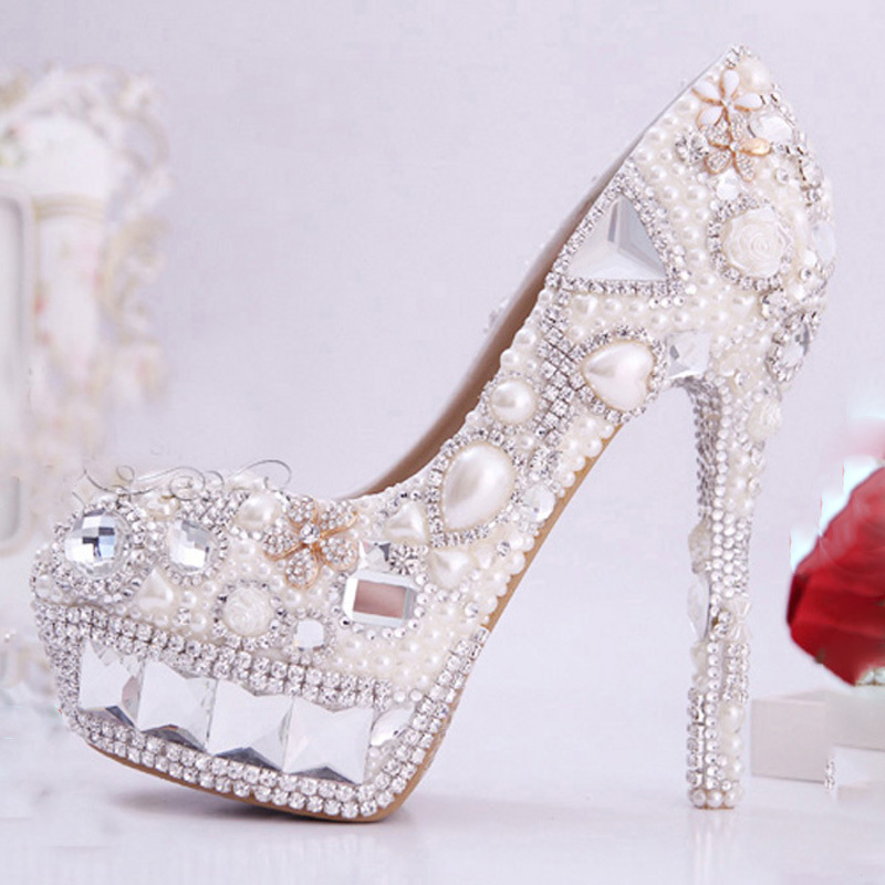 Find great deals on eBay for ivory rhinestone wedding shoes. Shop with confidence.