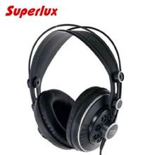 Superlux HD681B Professional Studio Headphones Semi-open Dynamic Stereo Monitoring Headset DJ Hifi Noise Cancelling Earphone New(China (Mainland))