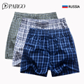 3 Pcs Lot Boxer Shorts High Quality Brand Mens pant Shots Loose Mans Underpants Men s