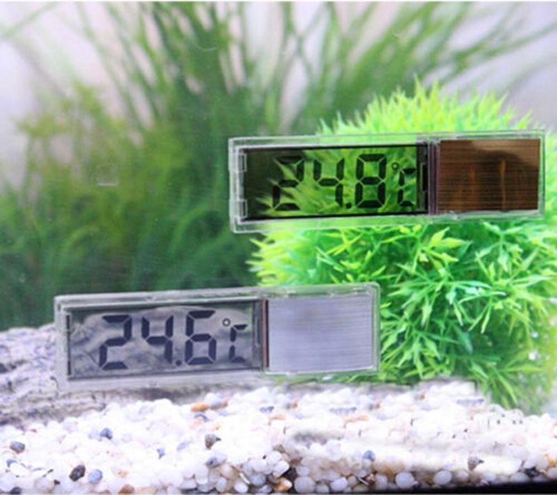 High Qulity Multi-Functional LCD 3D Crystal Digital Electronic Temperature Measurement Fish Tank Temp Meter Aquarium Thermometer(China (Mainland))