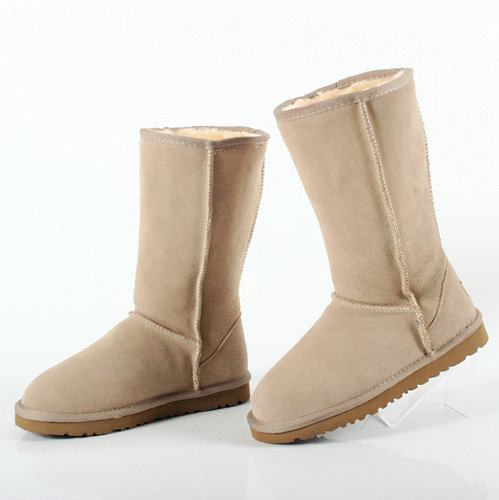 2017 Australia Warm Winter Unisex Snow Boots Mid-Calf boots Size plus size Fashion High Quality Women Genuine Suede Leather boot