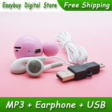 10pcs/lot New Style High Quality Mini Mickey Mouse Card Reader MP3 Music Player Gift MP3 Players With Earphone&Mini USB(China (Mainland))