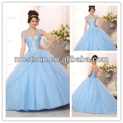 Light blue corset dress - Fashion dresses