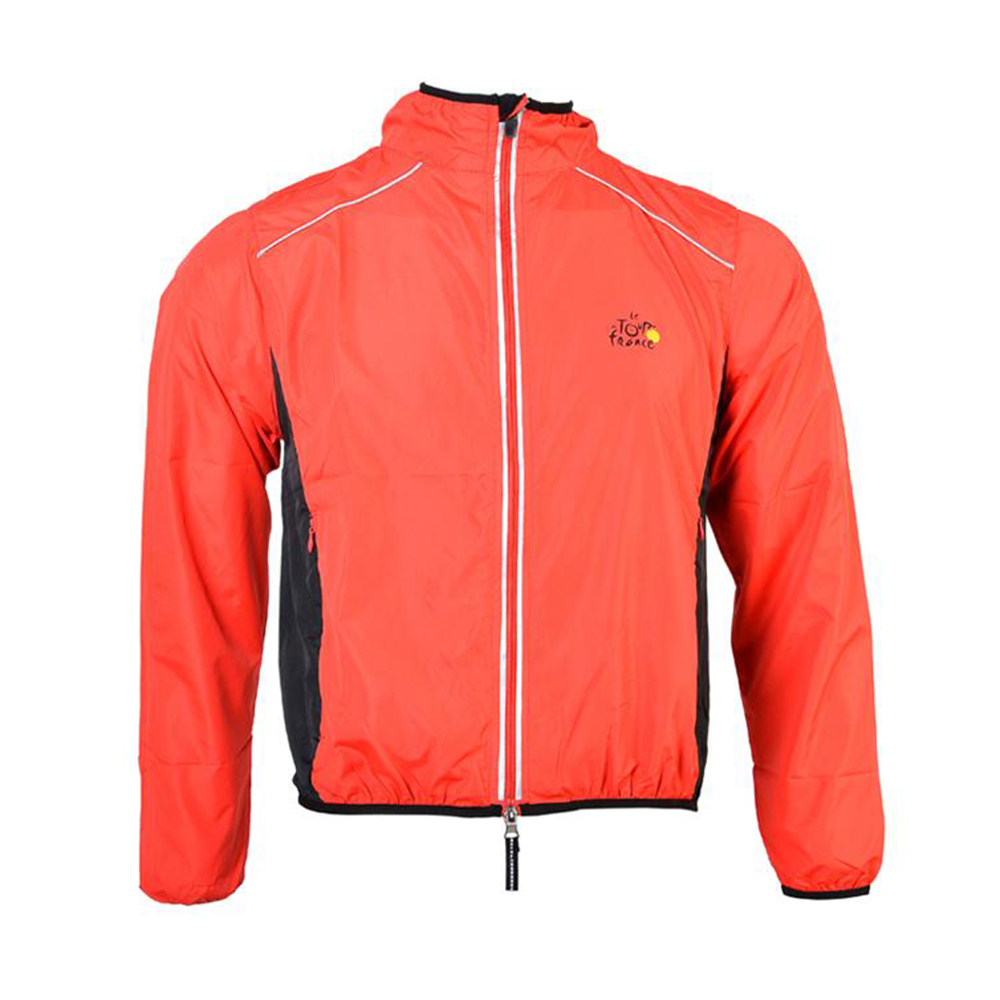 New Bicycle Cycling Outdoor Sports Men Riding Breathable Reflective Jersey Cycle Clothing Long Sleeve Wind Coat Jacket(China (Mainland))
