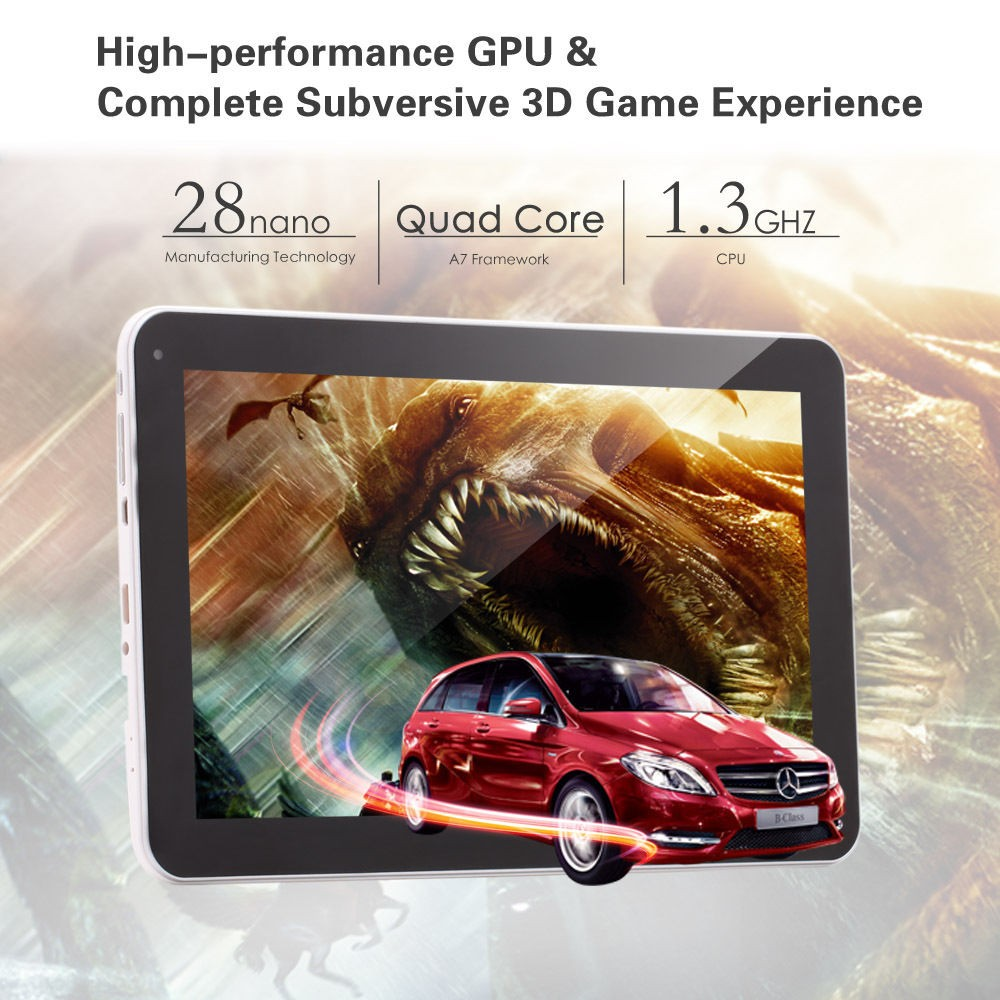 "2016 High-end Tablet iRULU eXpro X1Plus 10.1"" Tablet PC Android 5.1 Quad Core 8GB ROM Dual Camera 2MP Wifi with keyboard"