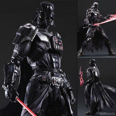Classic Movie Star Wars Action Figure 7 Playarts KAI Darth Vader Doll PVC Model Toy 27.5cm(China (Mainland))