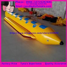banana boat fly fish pvc inflatable boat for water games(China (Mainland))