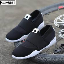 2016 New design Slip-on Loafer casial wedges shoes for men Canvas fashion bike shoes ride driving Comfort Tenis shoes for male(China (Mainland))