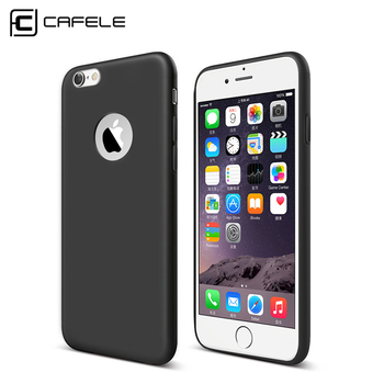 Original CAFELE Phone Cases for iPhone 6 6s Candy Color Silicone TPU Ultra Thin Fashion Luxury Cover Case For iphone 6 6S Plus