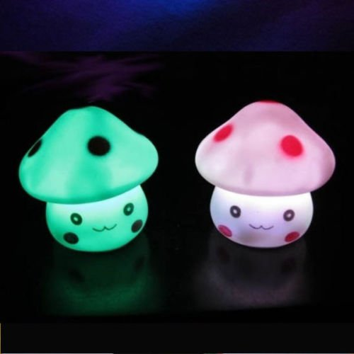 GSFY!7 Color Romantic Mushroom Christmas LED Night Light Lamp Battery Party Decor<br><br>Aliexpress
