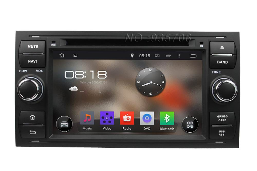 For Focus S-Max C-Max Fusion Transit Kuga 2007-2011  2 din Pure Android 4.4 Car DVD 1024*600 with WIFI 3G GPS Capacitive screen<br><br>Aliexpress