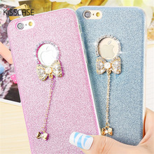 Buy KISSCASE Lovely 3D Glitter Diamond Rhinestone Butterfly Silicone Case iPhone 6 6s 6 Plus 6s Plus Case TPU Bling Back Cover for $1.99 in AliExpress store