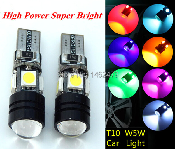 T10 W5W LED Clearance Light Marker Lamp Bulb For Nissan LIVINA Pathfinder TEANA Qashqai Bluebird Sylphy Sunny TIIDA MURANO NV(China (Mainland))