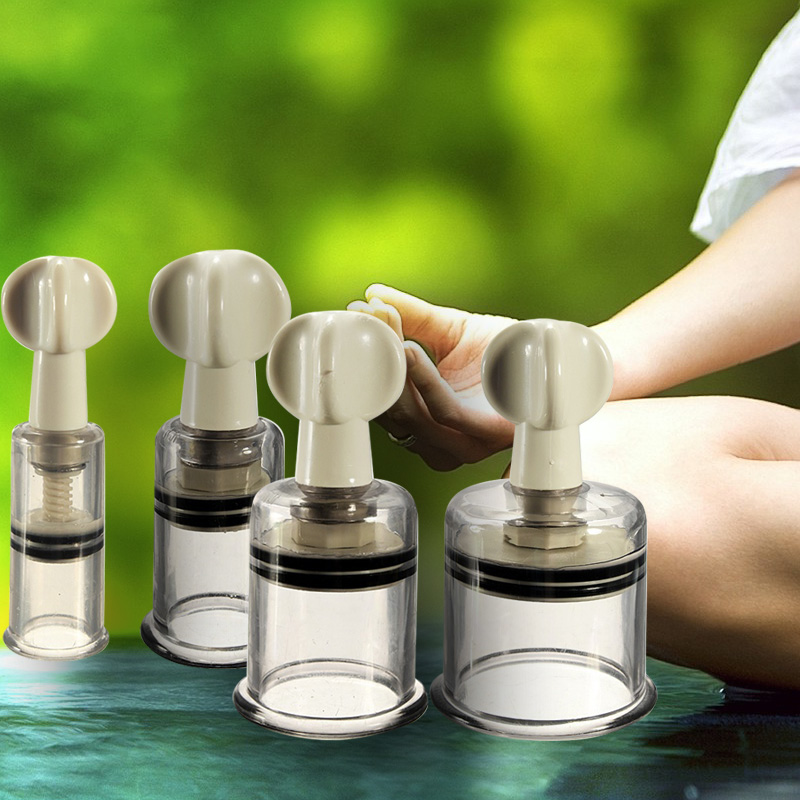 1pc Vacuum Suction Family Body Therapy Massage Helper Relaxing Muscle Anti Cellulite Vacuum Silicone Cupping Cups Health Care