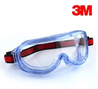 3M 1623AF new anti-fog safety goggles / eye protection / shock / dust and sand splash wind mirror G82303