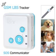 Portable RF-V18 Mini GSM Tracker LBS Tracker & SOS Communicator for Kids Children Elderly Personal GSM Tracking Device(China (Mainland))