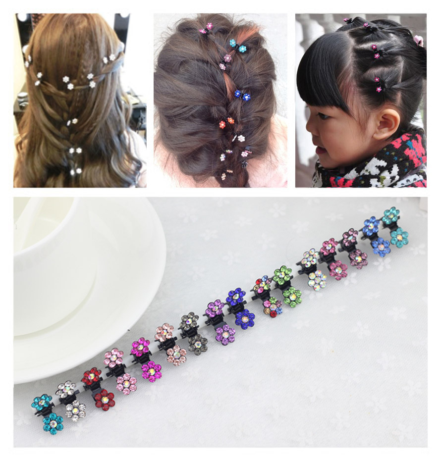 elastic band bracelet summer style hair accessoires baby girl headband clips gum weave baffle braided bow bandana ornaments 7008(China (Mainland))