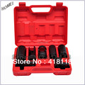 7pcs Oxygen Sensor Socket Automotive Shop Hand Tool Set