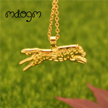 2018 Husky Necklace Dog Animal Pendant Gold Silver Plated Jewelry For Women Male Female Girls Ladies Kids Boys Friendship N007(China)