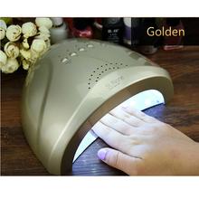 SUNone Nail Dryer LED UV Lamp Nail 24W/48W Beauty Salon Makeup Cosmetic Nail Dryer Polish Machine for Curing Nail Art Tools(China (Mainland))