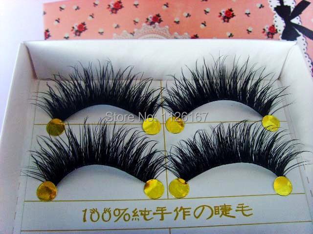 Free Shipping  10 pair/set natural long f false Eyelash<br><br>Aliexpress