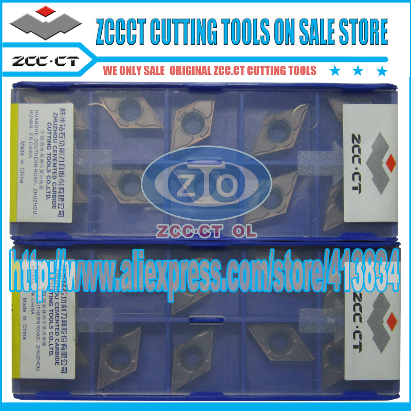 Free Shipping 50 units DCMT DCMT11T304-EM YBG205 ZCC.CT Cemented Carbide Cutting Tool Turning Inserts(China (Mainland))