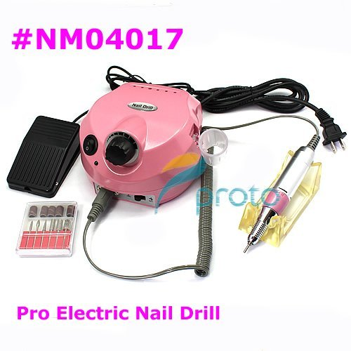 Freeshipping-NEW Electric Nail Drill Electric File for Nail Art Manicure Pedicure Salon and Home Use, SKU:E0001