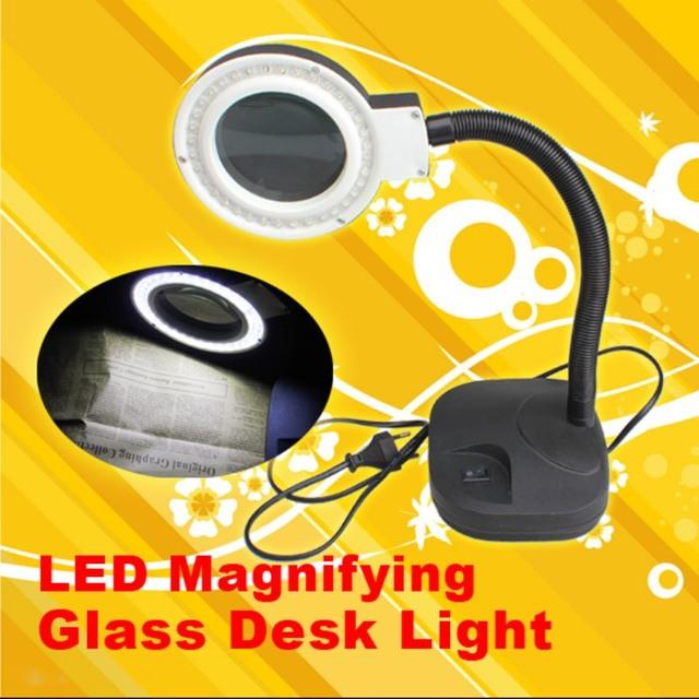 높은 품질 돋보기 led 라이트 램프 책상 확대 led 테이블 빛 돋보기 ...