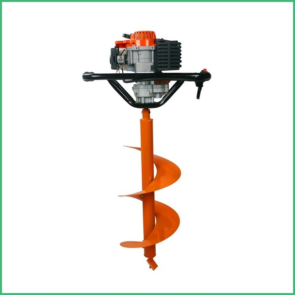 Manual earth auger in digging tools from home garden on for Power garden digging tools